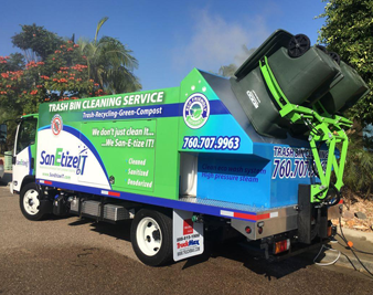 SanEtizeIT Trash Can Cleaning Services